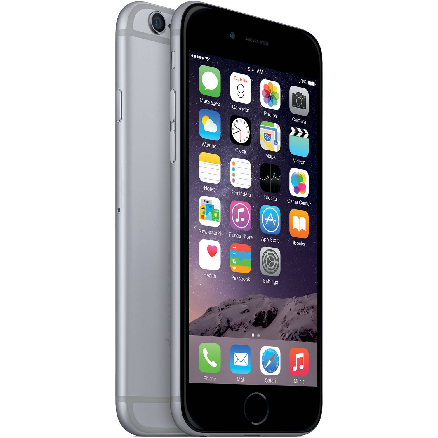 Straight Talk Apple iPhone 6 16GB 4G LTE Refurbished Prepaid Smartphone w/ Bonus $45 30-Day Plan