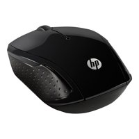 HP 200 - Mouse - right and left-handed - optical - wireless - 2.4 GHz - USB wireless receiver - for OMEN Obelisk by HP 875; HP 15, 27; ENVY x360; Pavilion Gaming 15, 690, TG01; Spectre x360
