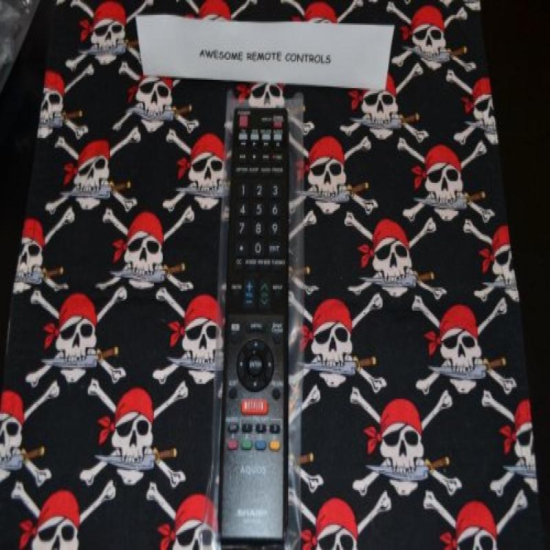 New Sharp TV Remote Control GB105WJSA RRMCGB105WJSA Suppl...