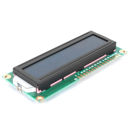 16x2 Character LCD Display Module with Blue Blacklight