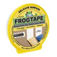 Duck Tape FrogTape Delicate-Surface Masking Tape, .94in x 60 yards