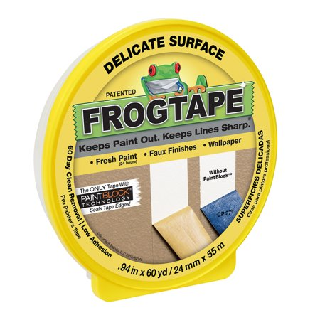 Duck Tape FrogTape Delicate Surface Masking Tape 94in x 60 yards