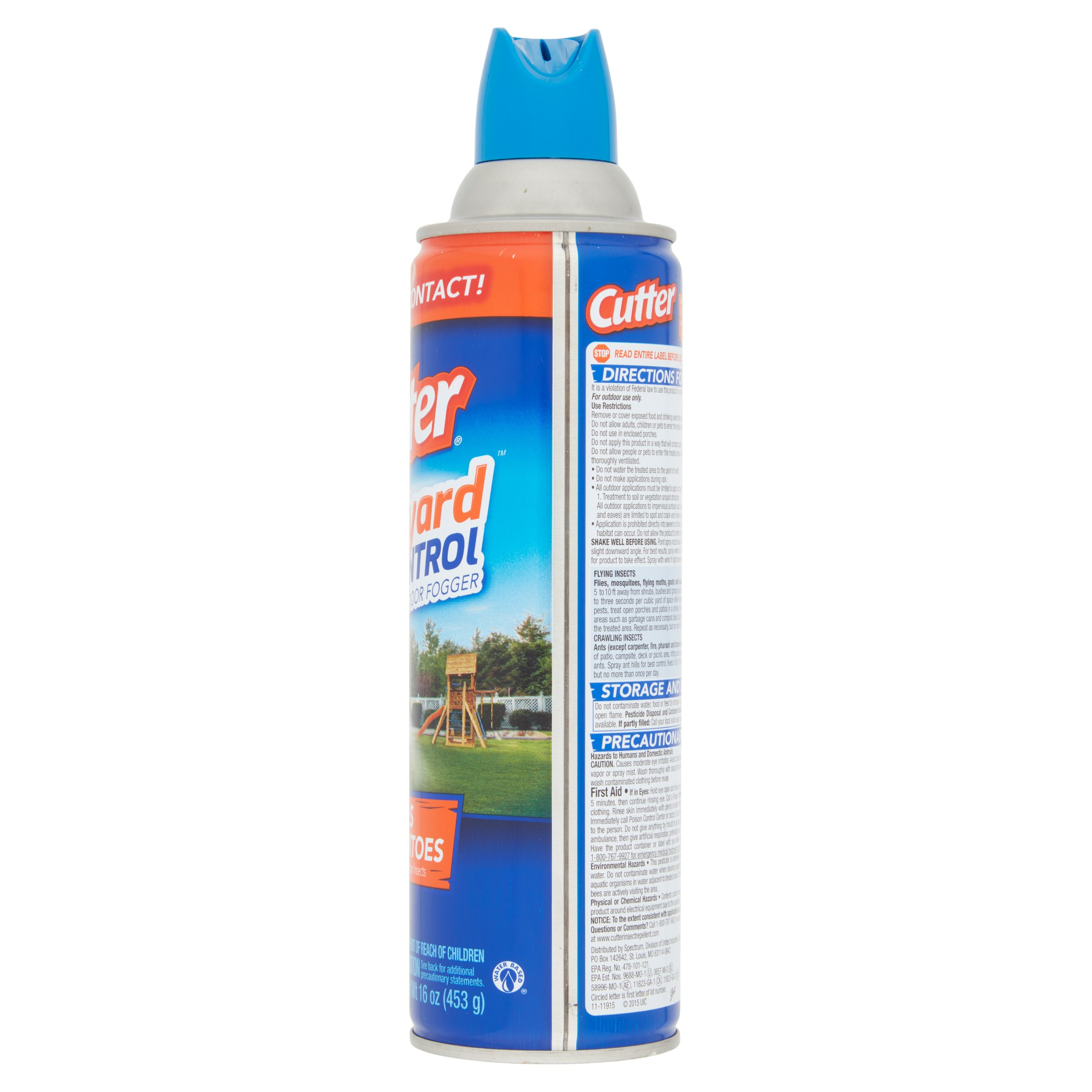 cutter backyard bug control outdoor fogger 16 oz walmart com