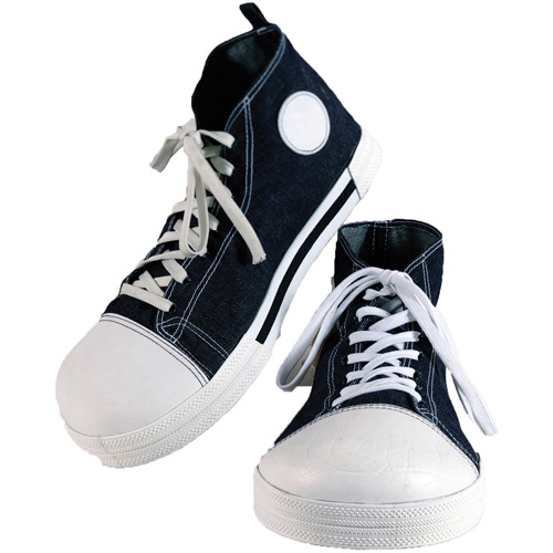 Jumbo Clown Blue Sneakers Adult Halloween Accessory