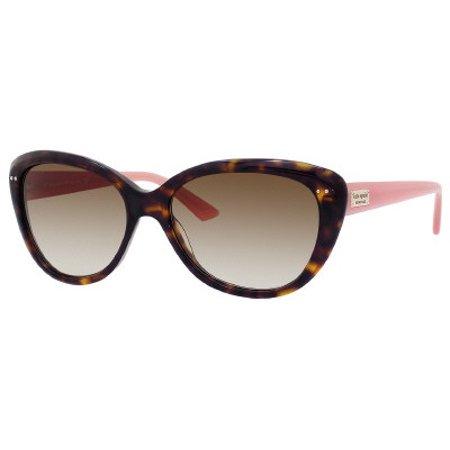 Kate Spade KS Angelique Sunglasses 0JUH Tortoise (Blush Sunglasses)