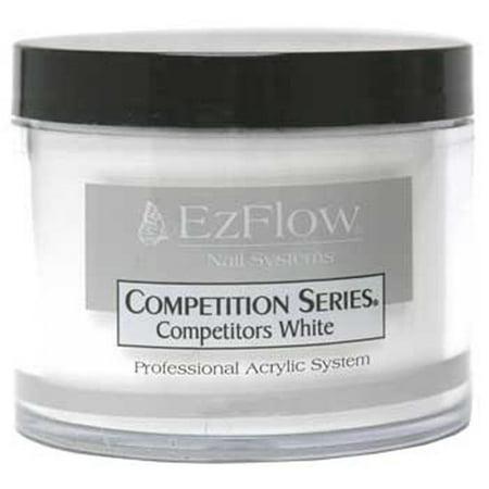 EzFlow Acrylic Powder Competitors White - 4oz #66065 (White Powder)