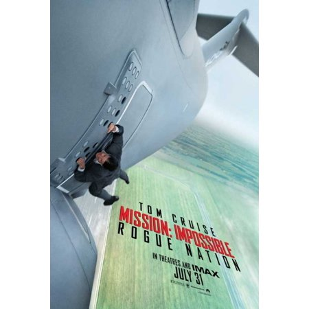 Mission Impossible Rogue Nation Movie Poster (11 x (Mission Impossible Poster)