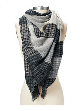 Winter Plaid Scarfs for Women Blanket Scarves for Women Lightweight Warm Scarf Gift for Her Online