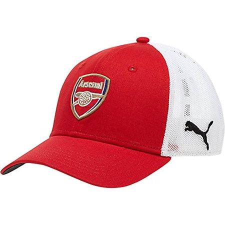 c8cd841b273 Puma Arsenal FC MESH STRETCH FIT  Red  (S M) - Walmart.com