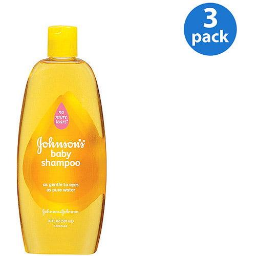 Johnson's  Baby Shampoo 20 oz (Pack of 3)