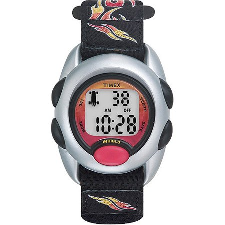 Timex Boys Time Machines Flames Digital Watch, Fast Wrap ...