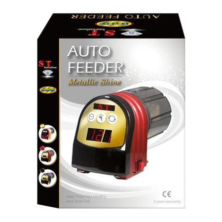 S.T. International Auto Fish Feeder, Red