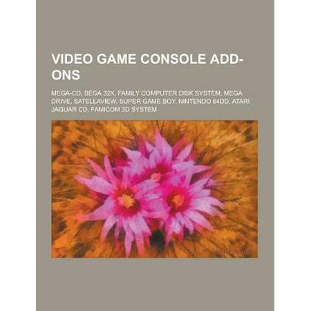 Video Game Console Add Ons  Mega Cd  Sega 32X  Family Computer Disk System  Mega Drive  Satellaview  Super Game Boy  Nintendo 64Dd  Atari Jaguar C