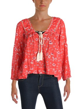 de080f2e804 Product Image Free People Never A Dull Moment Printed Cotton Top