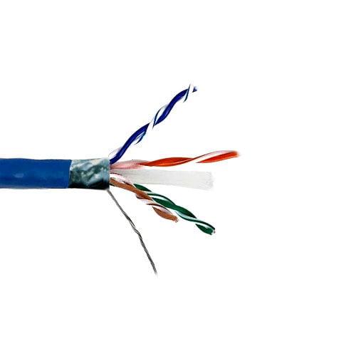 Kentek 1000 Feet FT CAT6 STP Stranded Bulk Cable 24 AWG C...