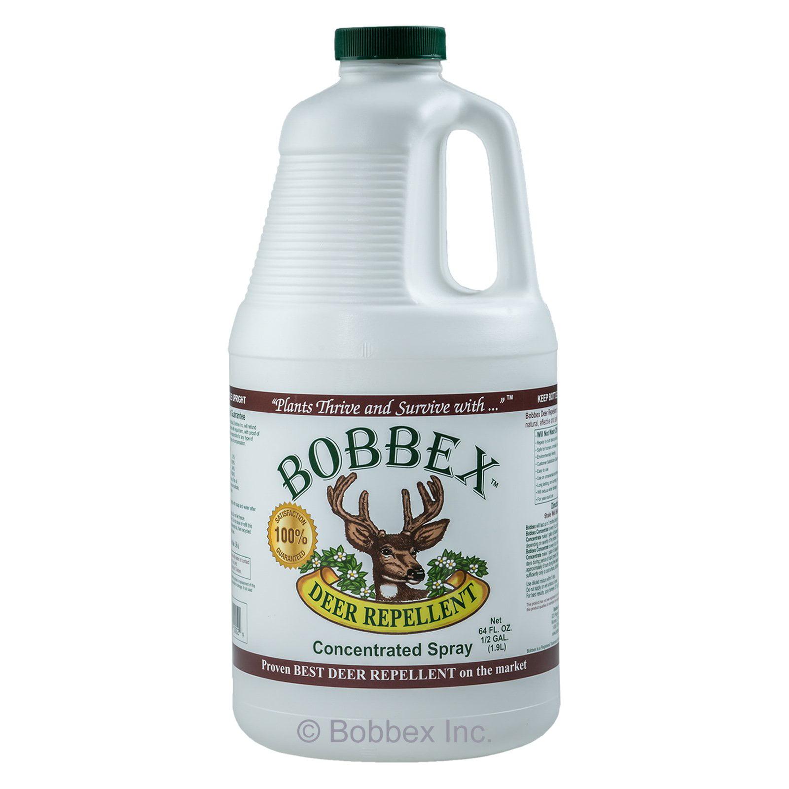 Bobbex Half Gallon Deer Repellent Concentrated Spray