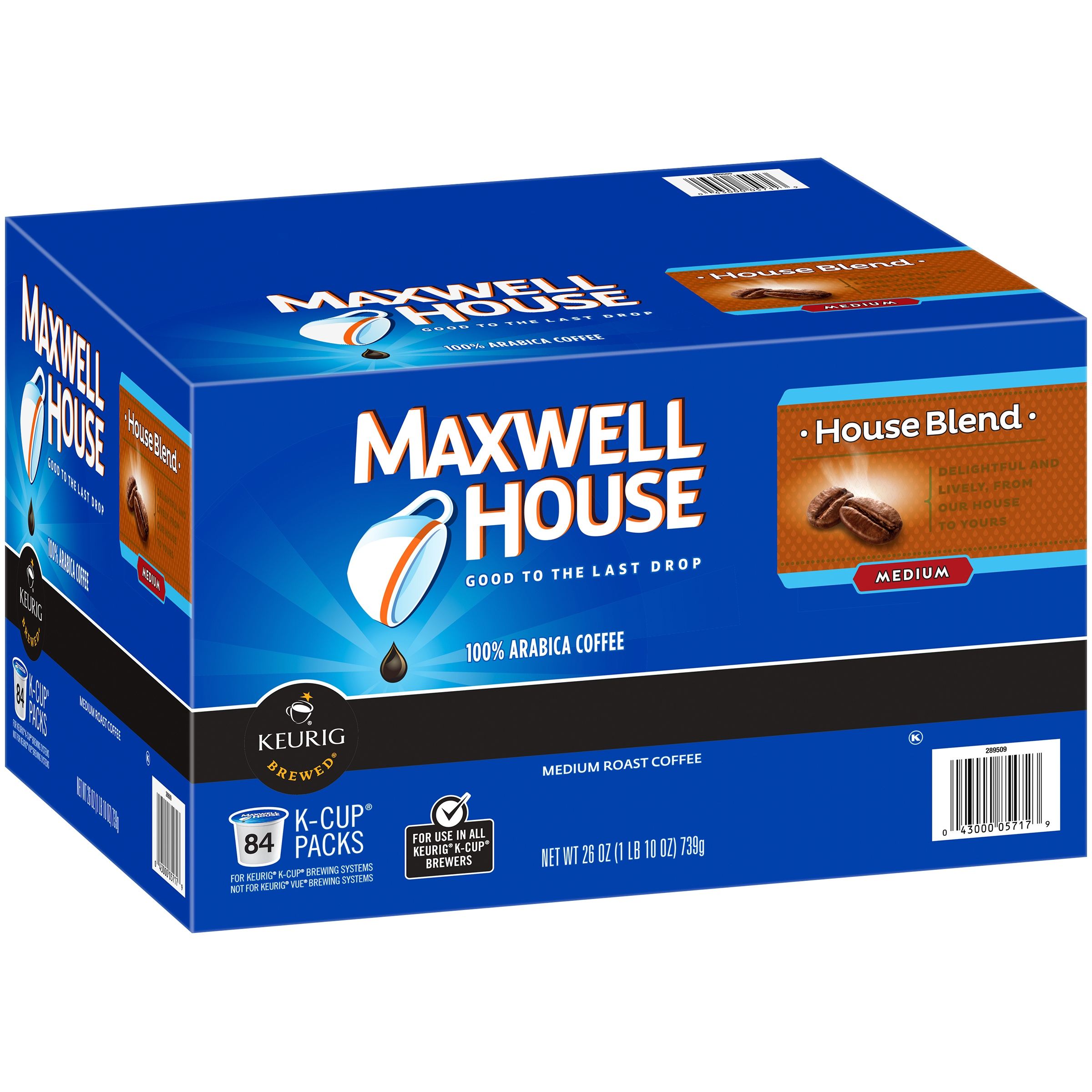 Maxwell House House Blend Coffee K-Cup® Packs 84 ct Box