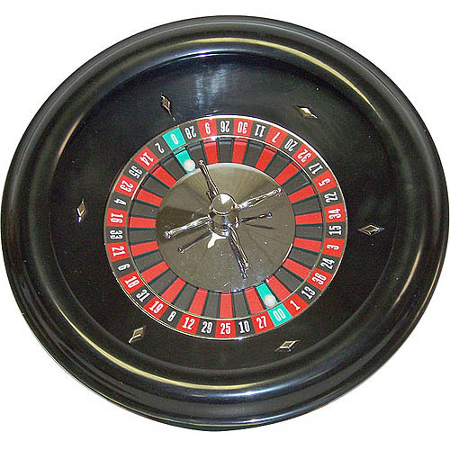 "Trademark Poker 18"" Roulette Wheel"