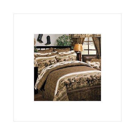 Wild horses comforter set twin for Wild bedding