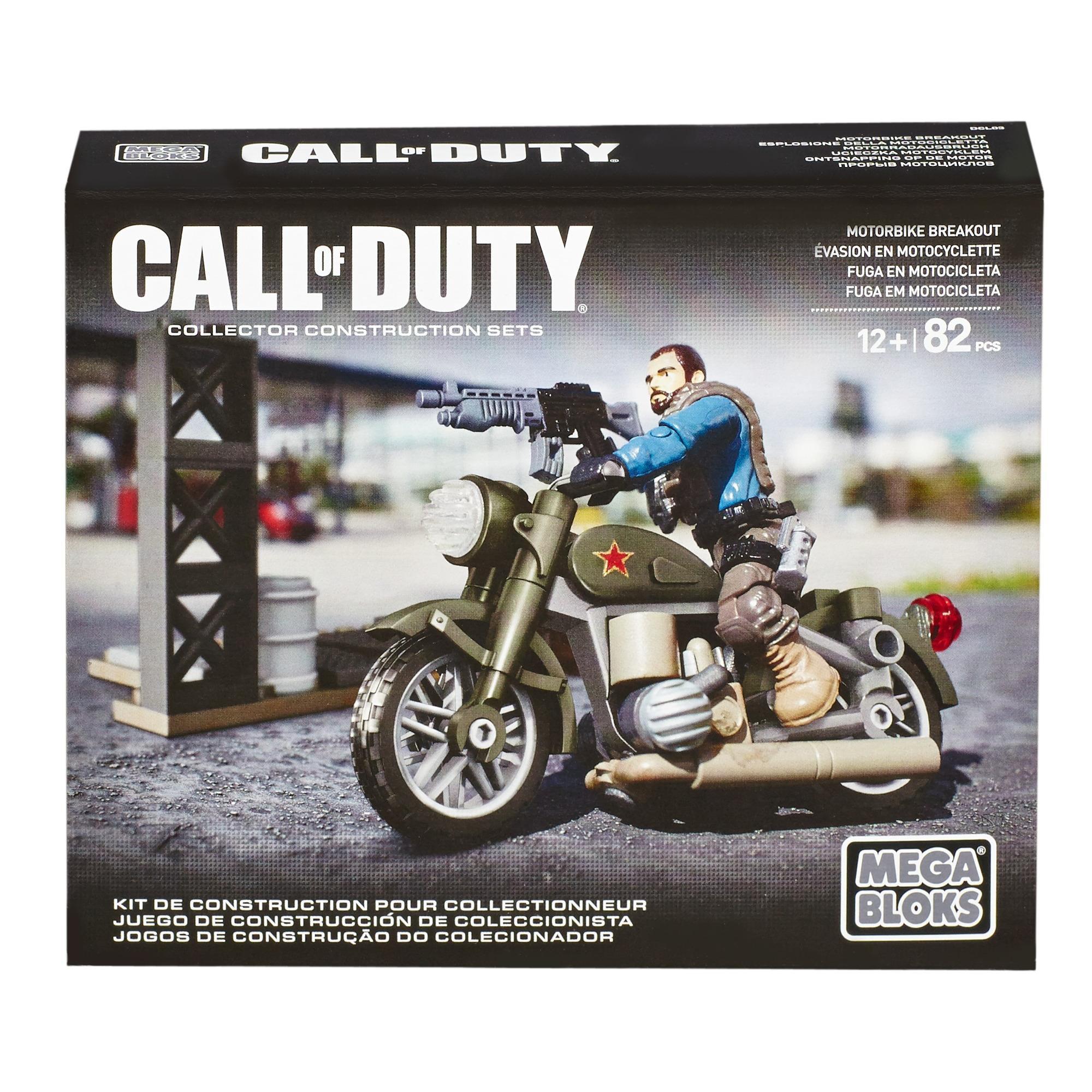Mega Bloks Call of Duty Motorbike Breakout by Mega Bloks