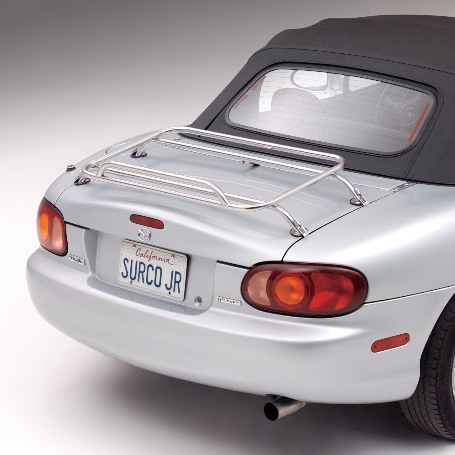 Surco Stainless Steel Removable Deck Rack- Miata 2016
