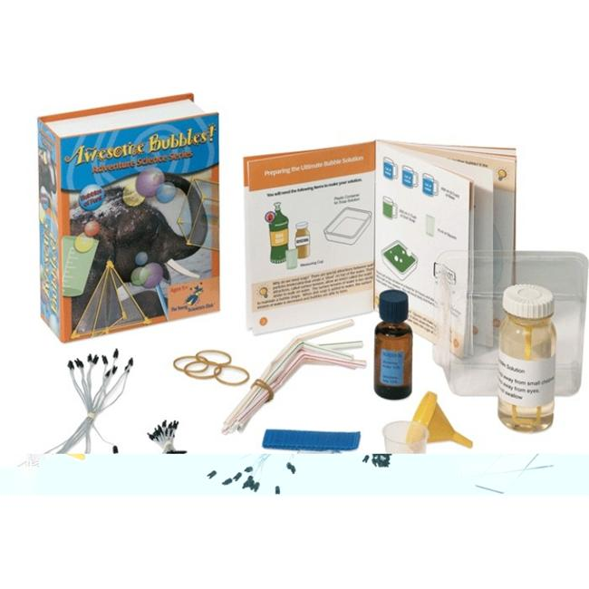 The Young Scientists Club WH-925-1118 Adventure Science Series- Awesome Bubbles Kit