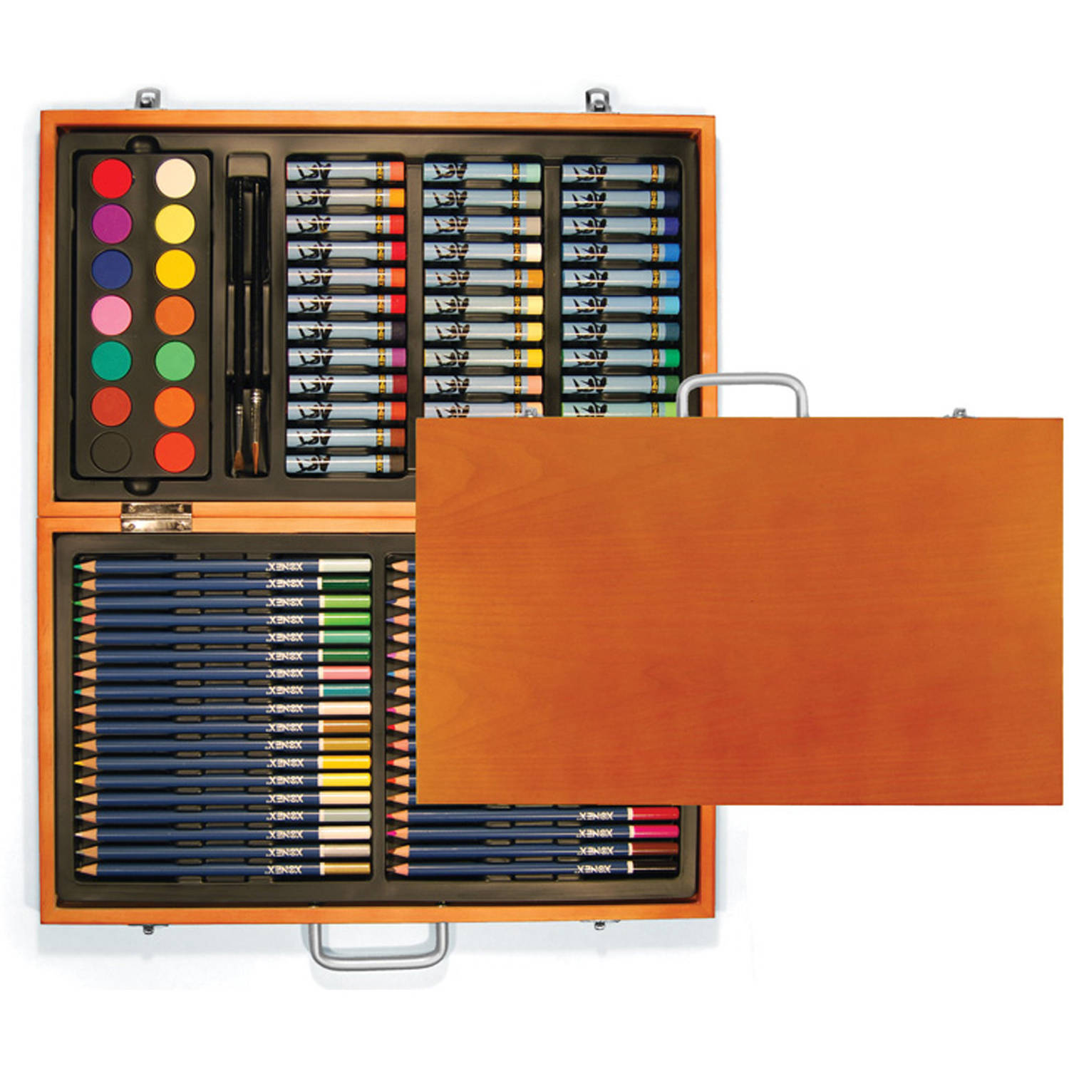 88-Piece Wooden Art Set by Xonex