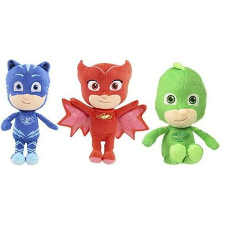 PJ Masks - Catboy, Gekko and Owlette - Authentically Licensed 8.5 Mini Plush - Set of 3