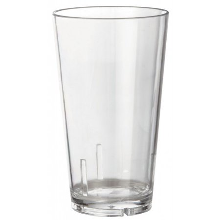 Acrylic Beer Pint Glass - Break Resistant - 16 oz - Single Glass