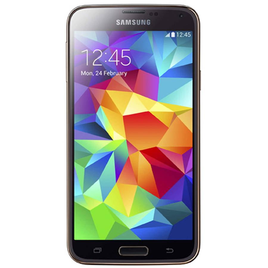 Refurbished Samsung Galaxy S5 G900A 16GB Smartphone (Unlocked), Gold