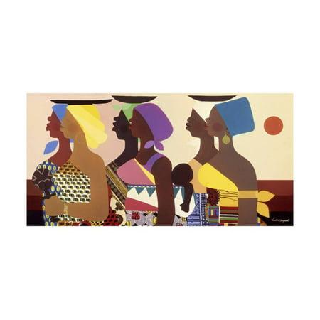 African Women Print Wall Art By Varnette -
