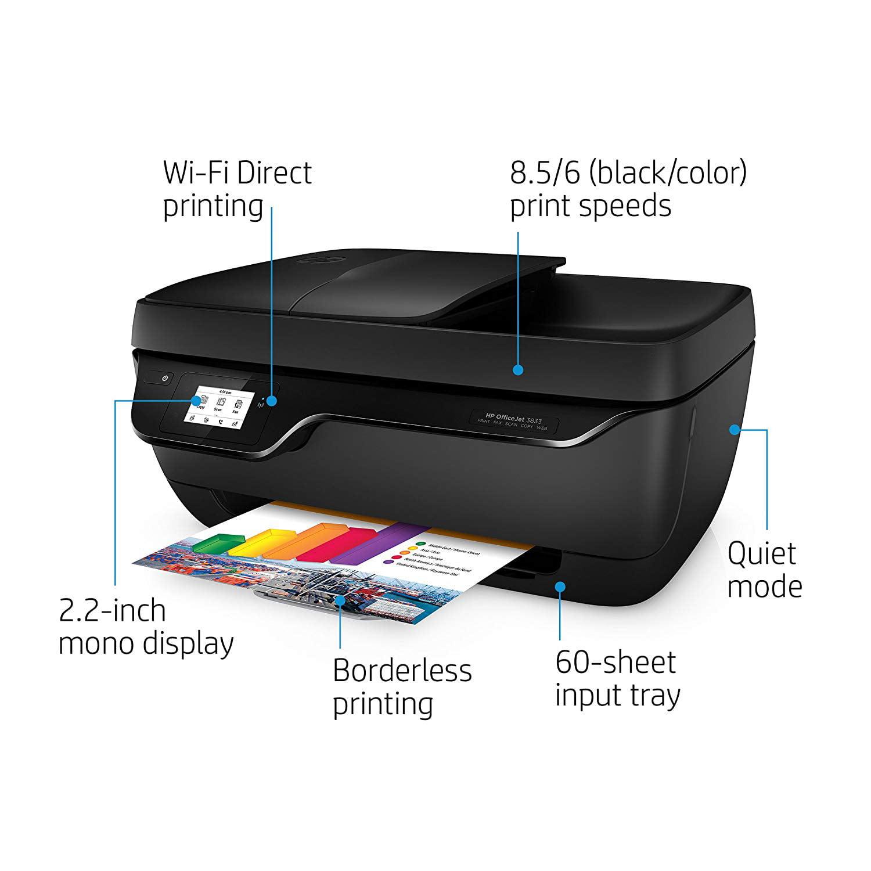 Hewlett-Packard-HP OfficeJet 3833 All-in-One Printer