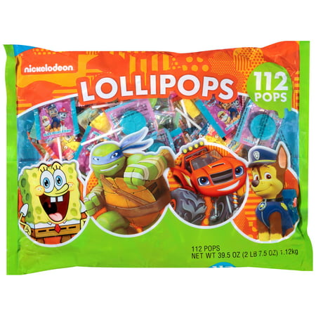 Nickelodeon Lollipops, 112 count, 39.5 oz