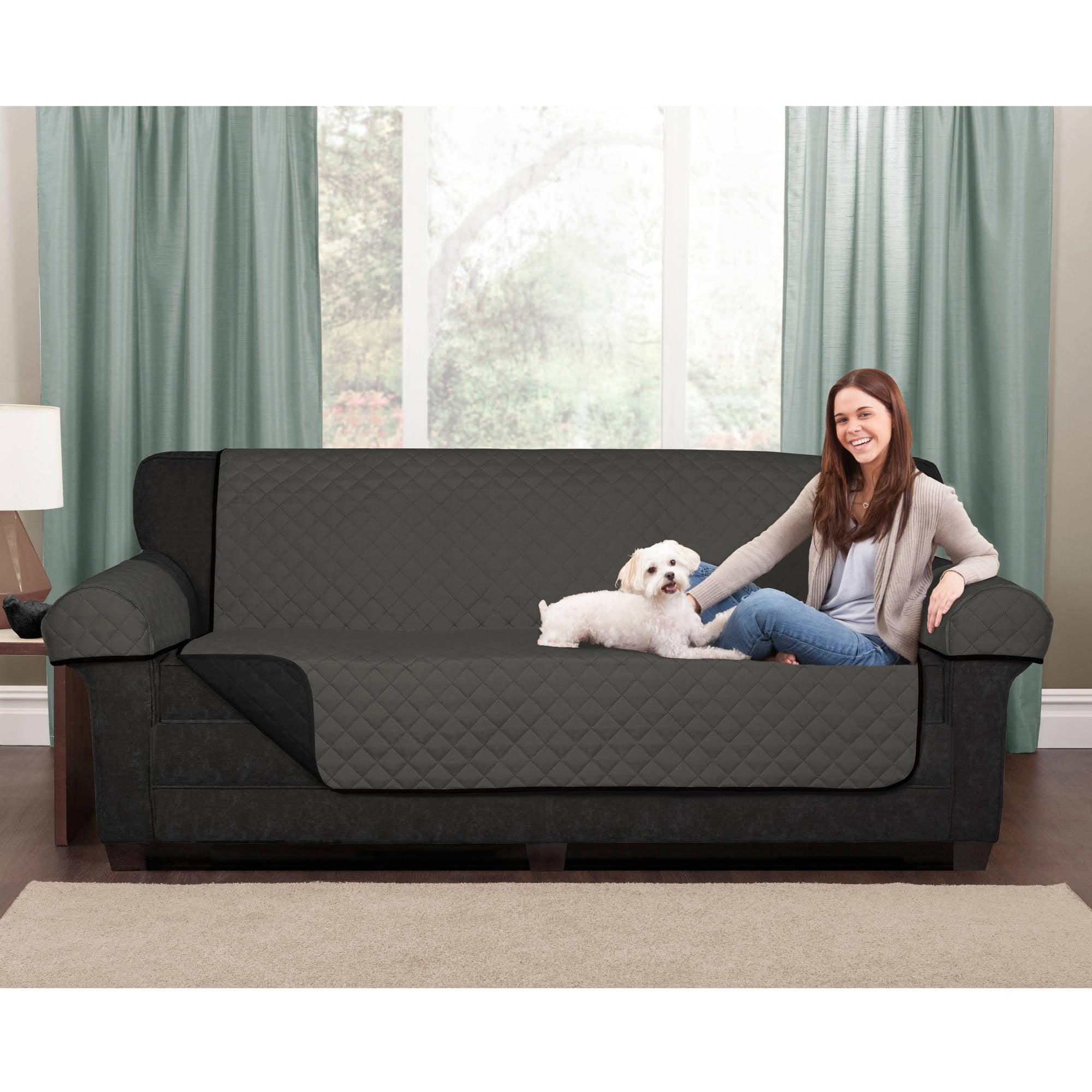 Maytex Reversible Microfiber Fabric Pet/Furniture Recliner Chair Cover