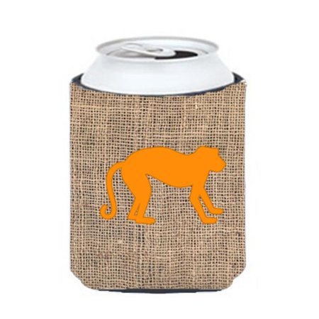 Monkey Burlap And Brown Can Or Bottle  Hugger - image 1 de 1