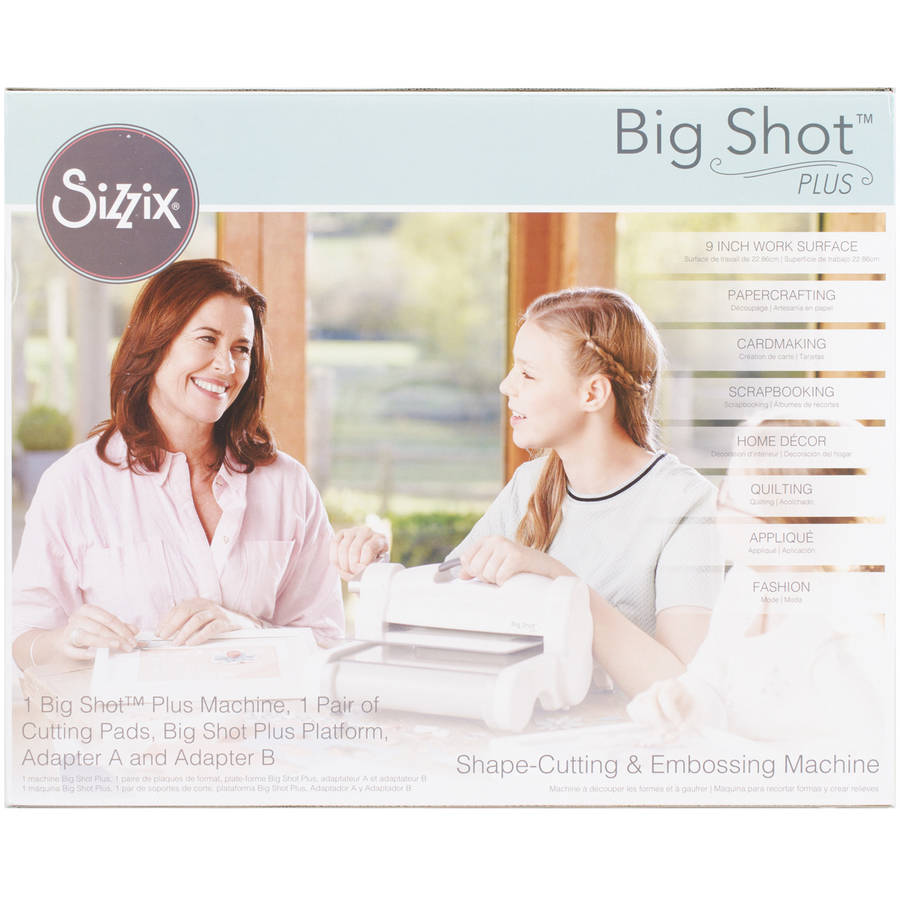 Sizzix Big Shot Plus Machine, Grey/White