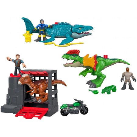 Imaginext Jurassic World Feature Playset (Styles May Vary)
