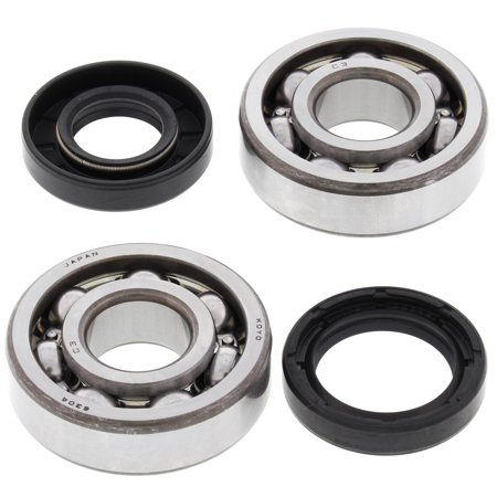 New All Balls Crank Bearing and Seal Kit 24-1063 for Yamaha DT100 1974 1975 1976 1977 1978 1979 1980 1981 1982 1983 74 75 76 77 78 79 80 81 82 83, MX100 1974 1975 1979 1980 1981 1982 1983 ()