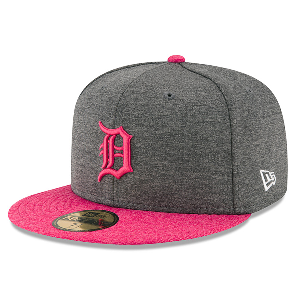 Detroit Tigers New Era Mother's Day 59FIFTY Fitted Hat - Graphite