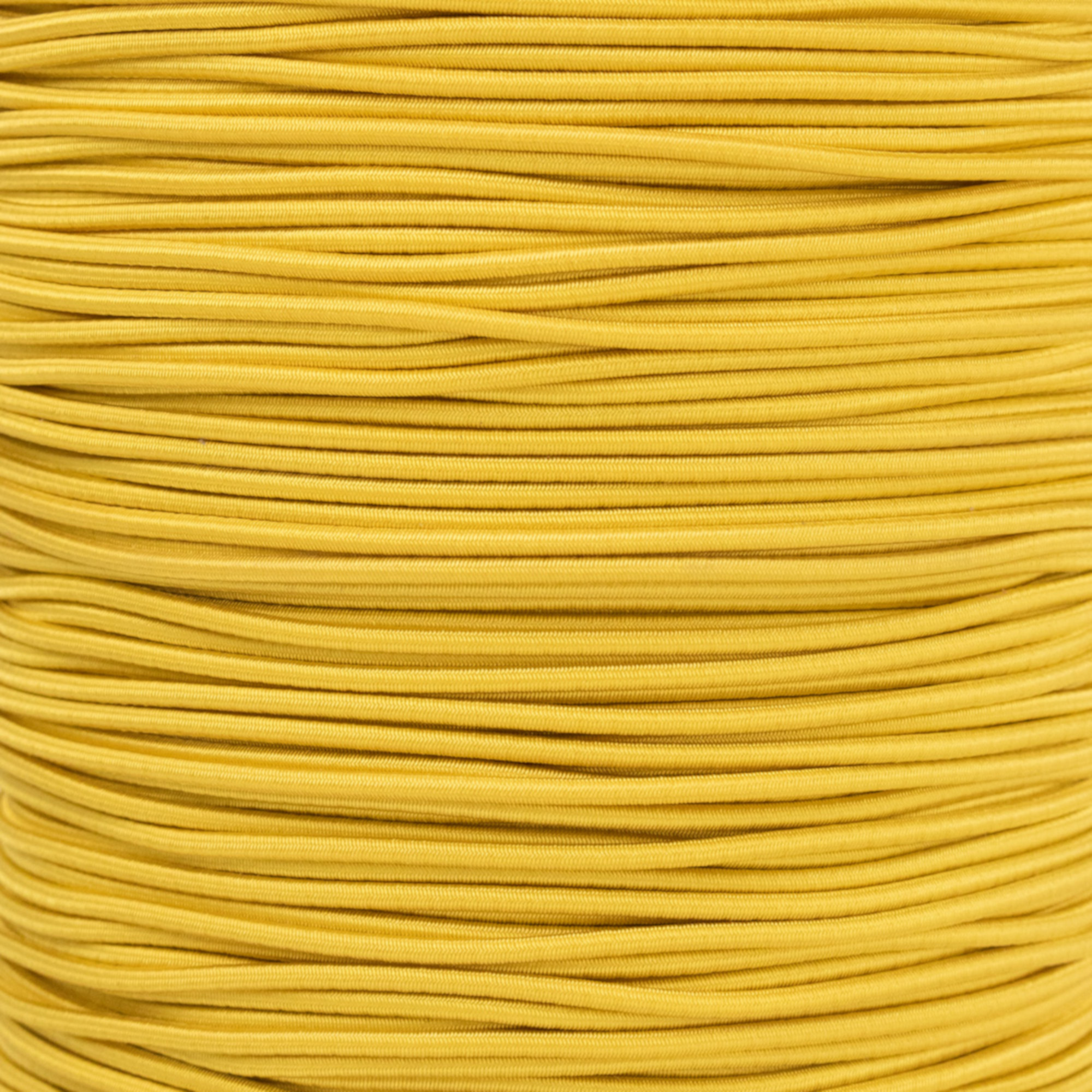 Paracord Planet 2.5mm Elastic Bungee Nylon Shock Cord Crafting Stretch String - Various Colors - 10, 25, 50 and 100 Foot Lengths - Made in USA