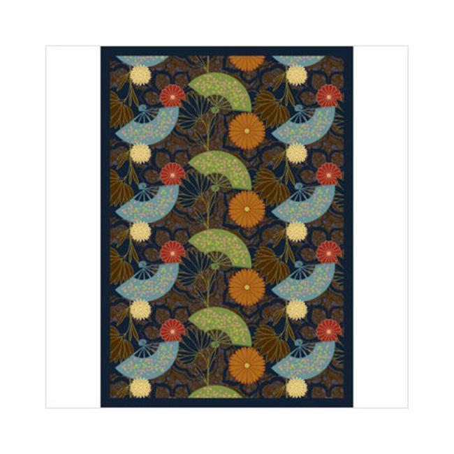 Joy Carpets Pacific Rim 5 ft8 inch 100 Pct.  STAINMASTER Nylon Machine Tufted- Cut
