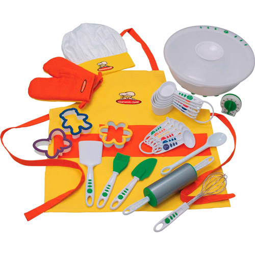 Curious Chef 27-Piece Foundation Cook Play Set