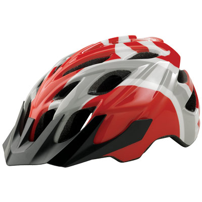 Kali Protectives Chakra Youth Race Bike Helmet, Red