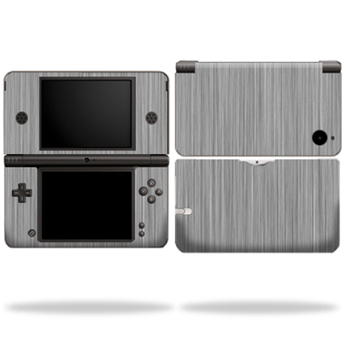 Mightyskins Protective Vinyl Skin Decal Cover for Nintendo DSi XL wrap sticker skins Steel