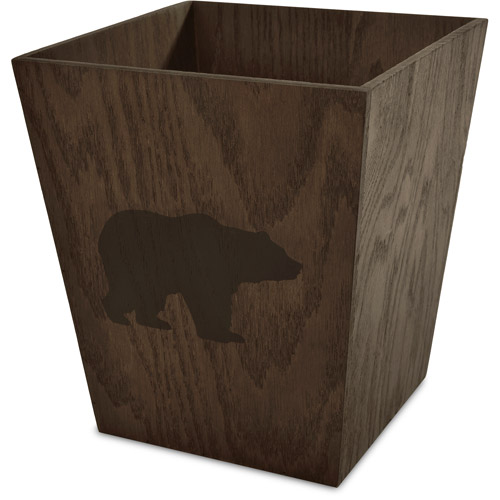 Better Homes and Gardens Deer Stripe Wastebasket