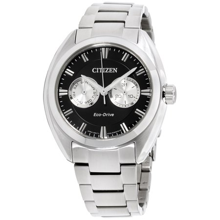 Eco-Drive Paradex Stainless Steel Mens Watch BU4010-56E