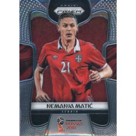 890dac2b8 2018 Panini Prizm  183 Nemanja Matic Serbia Soccer Card - Walmart ...
