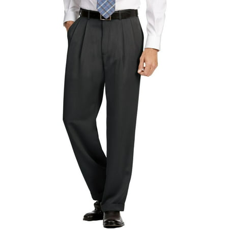 Perry Ellis Mens Micro Melange Classic Fit Dress Pants