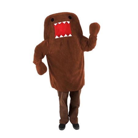 Domo Costume Adult - Domo Nerd Halloween Costume