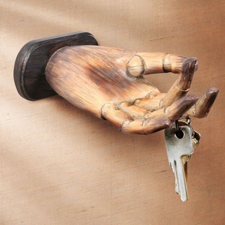 Artistic Hand Wall Mounted Key Holder - Durable Resin - Walmart.com 2495ad134